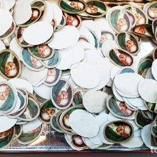 Vitolas de colección: CREO QUE SON CENTRO DE VITOLAS. MÁS DE 200 UNIDADES TODAS IGUALES. TAMAÑO 2X1 CM. Lote 107542103