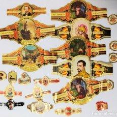 Vitolas de colección: VITOLAS TABACO PUROS CIGARROS ALVARO . Lote 107816555