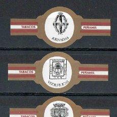 Vitolas de colección: ¡¡ OFERTA !!. PEÑAMIL. SERIE CLÁSICA COMPLETA. JORNADAS VITOLFÍLICAS BENIDORM 1994.. Lote 110675322