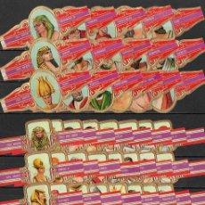 Vitolas de colección: SERIE CLÁSICA COMPLETA (48 UNIDADES). VIEIL ANVERS. PERSONAJES 1ª. GRECIA Y EL MUNDO ANTIGUO.. Lote 110308619