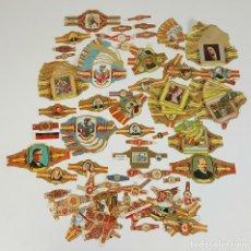 Vitolas de colección: COLECCIÓN DE 251 VITOLAS PARA PUROS. VARIAS SÉRIES. CROMOLITOGRAFÍAS. SIGLO XX. . Lote 111759955