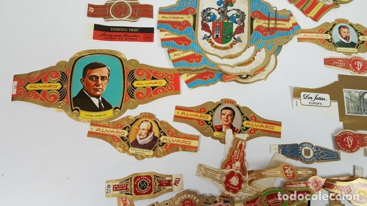 Vitolas de colección: COLECCIÓN DE 251 VITOLAS PARA PUROS. VARIAS SÉRIES. CROMOLITOGRAFÍAS. SIGLO XX. - Foto 5 - 111759955