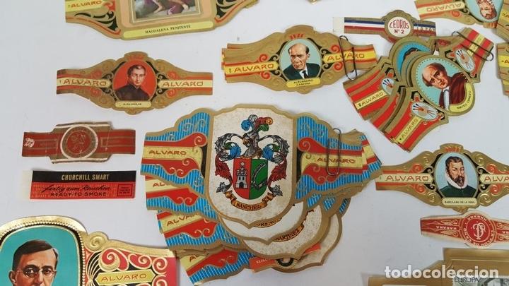 Vitolas de colección: COLECCIÓN DE 251 VITOLAS PARA PUROS. VARIAS SÉRIES. CROMOLITOGRAFÍAS. SIGLO XX. - Foto 6 - 111759955
