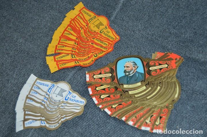 LOTE DE 3 COLECCIONES COMPLETAS DE VITOLAS - MUY BUEN ESTADO - VARIADAS - LOTE Nº 1 - HAZ OFERTA (Coleccionismo - Objetos para Fumar - Vitolas)