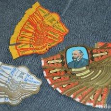 Vitolas de colección: LOTE DE 3 COLECCIONES COMPLETAS DE VITOLAS - MUY BUEN ESTADO - VARIADAS - LOTE Nº 1 - HAZ OFERTA. Lote 112608967
