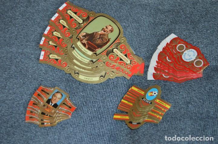 LOTE DE 4 COLECCIONES COMPLETAS DE VITOLAS - MUY BUEN ESTADO - VARIADAS - LOTE Nº 3 - HAZ OFERTA (Coleccionismo - Objetos para Fumar - Vitolas)