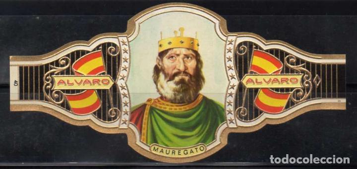 ALVARO, REYES DE ESPAÑA, Nº 40, ORO VIEJO. (Coleccionismo - Objetos para Fumar - Vitolas)
