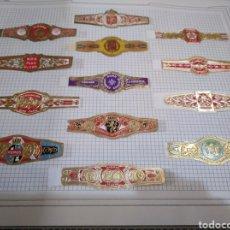 Vitolas de colección: COLECCION VITOLAS PARTICULAR, AGUILAS,KAISER, QUO VADIS. Lote 114641295