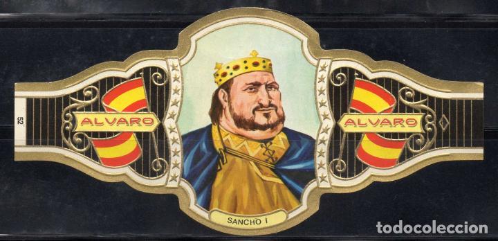 ALVARO, REYES DE ESPAÑA, Nº 52, ORO CLARO. (Coleccionismo - Objetos para Fumar - Vitolas)