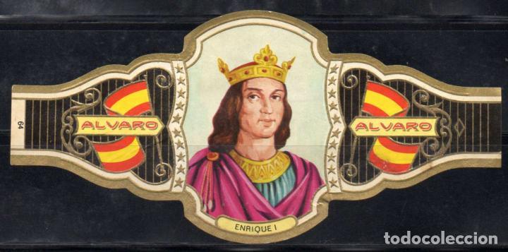 ALVARO, REYES DE ESPAÑA, Nº 64, ORO CLARO. (Coleccionismo - Objetos para Fumar - Vitolas)