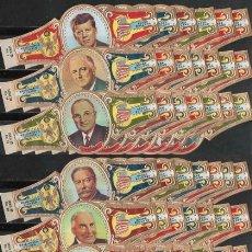 Vitolas de colección: SERIE DE VITOLAS COMPLETA (160 UNID. FORMATO VITOLINA). WASHINGTON. PRESIDENTES (USA).. Lote 118239595