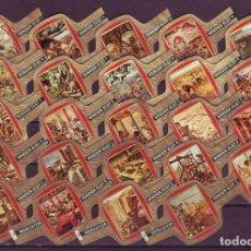 Vitolas de colección: MERCATOR, ORIGEN DE LAS CIVILIZACIONES, 24 VITOLAS, SERIE COMPLETA.. Lote 118397955