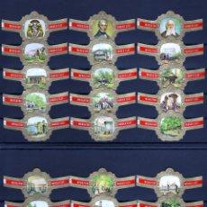 Vitolas de colección: MERCATOR, SOCIEDAD ZOOLOGICA DE AMBERES, 24 VITOLAS, SERIE COMPLETA.. Lote 118398007