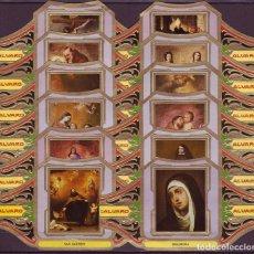 Vitolas de colección: ALVARO, MURILLO, SERIE 3ª, 12 VITOLINAS, SERIE COMPLETA.. Lote 119991051