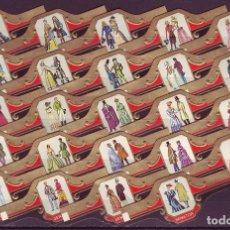Vitolas de colección: SENATOR, HISTORIA DE LA MODA, 24 VITOLAS, SERIE COMPLETA.. Lote 121512335
