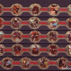 Vitolas de colección: VERELLEN, OFICIOS ANTIGUOS, 24 VITOLAS, SERIE COMPLETA.. Lote 122182799