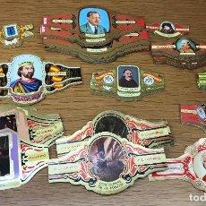 Vitolas de colección: LOTE DE 300 VITOLAS DE ALVARO - VER RELACIÓN. Lote 122212371