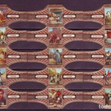 Vitolas de colección: VICTOR HUGO, NAPOLEON, SERIE 24, 15 VITOLAS, SERIE COMPLETA.. Lote 122471611