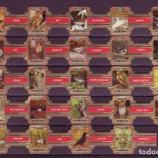 Vitolas de colección: VIEIL ANVERS, AVES DE PARQUES Y JARDINES, 24 VITOLAS, SERIE COMPLETA.. Lote 124664691