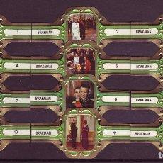 Vitolas de colección: BRAKMAN, VISITA REAL A ALEMANIA, 12 VITOLAS, SERIE COMPLETA.. Lote 124965463