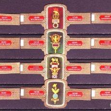 Vitolas de colección: HENRI WINTERMANS, ESTANDARTES ROMANOS, 12 VITOLAS, SERIE COMPLETA.. Lote 127251271
