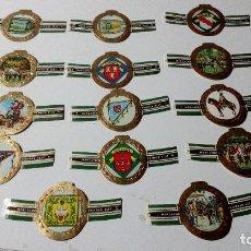 Vitolas de colección: LOTE CATORCE VITOLAS MERCATOR VANDER ELST OMMEGANG VAN BRUSSEL. Lote 128299391