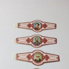 Vitolas de colección: LOTE CINCO VITOLAS PERSONAJES SOTABANA ARAUTAPALA. Lote 128299411