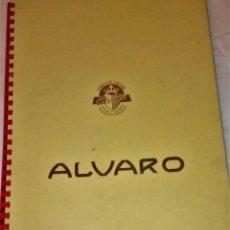 Vitolas de colección: ALBUM DE 25 VITOLAS ALVARO DE SELECCIONES DEL MUNDIAL ESPAÑA 1982 DE FÚTBOL.. Lote 128308379