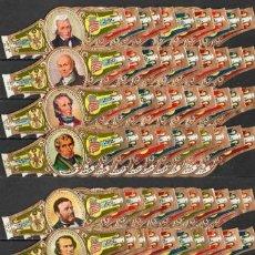 Vitolas de colección: SERIE DE VITOLAS COMPLETA (160 UNID. EN FORMATO CLÁSICO). WASHINGTON. PRESIDENTES (USA).. Lote 155163604