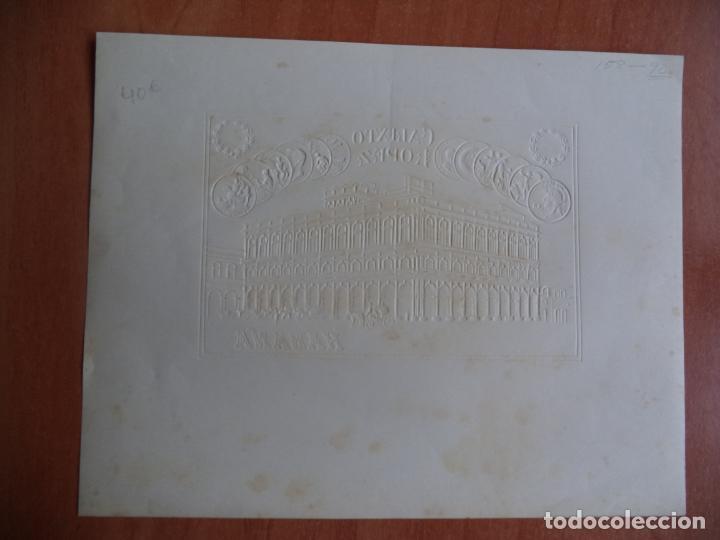 Vitolas de colección: HABILITACION. VISTA- BOFETON. CALIXTO LOPEZ. HABANA. SAINT LOUIS. 1904. - Foto 2 - 131200648