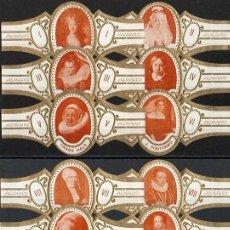 Vitolas de colección: ALVARO. SERIE COMPLETA. PINTURA (RETRATOS DE MUJERES).. Lote 146204354