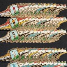 Vitolas de colección: MURILLO. COLECCIÓN COMPLETA, 512 VITOLAS. GRANDES CLUBES DE FÚTBOL EUROPEOS.. Lote 136696790