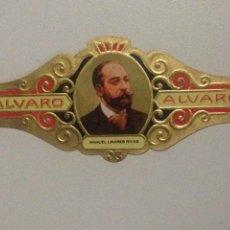 Vitolas de colección: VITOLA ALVARO N146,MANUEL LINARES RIVAS.. Lote 138802328