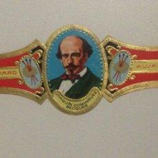 Vitolas de colección: VITOLA ALVARO N47,JUAQUIN DOMINGUEZ BECQUER.. Lote 138803188