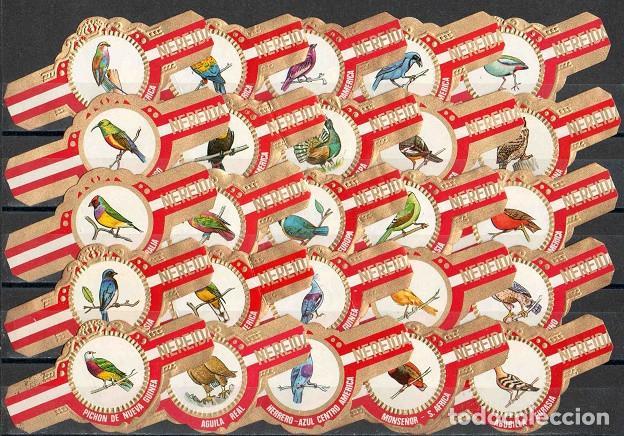 Vitolas de colección: ¡¡Oferta!!. Serie de vitolas clásicas completa. Nereida. Aves. - Foto 2 - 142262558