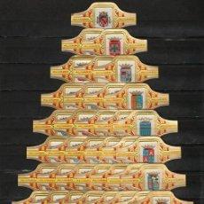 Vitolas de colección: SERIE DE VITOLAS COMPLETA. ALVARO. ESCUDOS DE ESPAÑA.. Lote 142410706