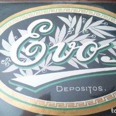 Vitolas de colección: ETIQUETA TABACO VITOLA EVO. GRANDE . Lote 143785842