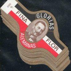 Vitolas de colección: SERIE DE VITOLAS COMPLETA (S.M.I.) (25 UNIDADES). GLORIAS ALEMANAS.. Lote 144122930