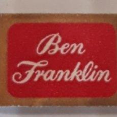 Vitolas de colección: VITOLA BEN FRANKLIN. Lote 144837022