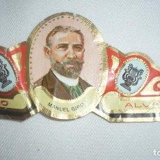Vitolas de colección: VITOLA GRANDE MANUEL GIRO. Lote 145263970