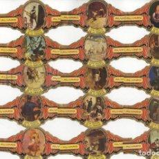 Vitolas de colección: 82 VITOLAS DE ALVARO DON QUIJOTE DE LA MANCHA TODAS DIFERENTES Y EN MUY BUEN ESTADO, VER LAS FOTOS.. Lote 145345222