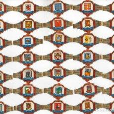 Vitolas de colección: BONITO LOTE DE 47 VITOLAS TODAS DIFERENTES Y EN BUEN ESTADO DE CAPOTE DE ESCUDOS DE PROVINCIAS . Lote 145422142