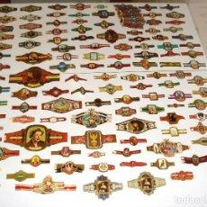 Vitolas de colección: ESPECTACULAR COLECCIÓN CON MÁS 250 VITOLAS ANTIGUAS. Lote 146928358