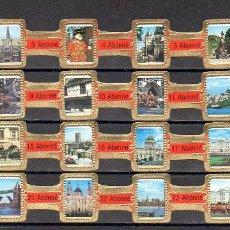 Vitolas de colección: ABONNE, LONDRES, ROJO, 24 VITOLAS, SERIE COMPLETA.. Lote 148168842