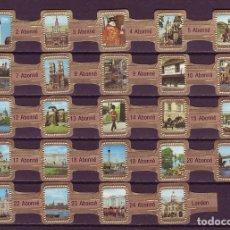 Vitolas de colección: ABONNE, LONDRES, SEPIA, 24 VITOLAS, SERIE COMPLETA.. Lote 148168858