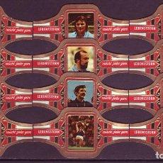 Vitolas de colección: LEBENSSTERN, OLIMPIADAS 1972, 12 VITOLAS, SERIE COMPLETA.. Lote 148171558