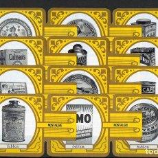 Vitolas de colección: LA FINCA TROPICAL. SERIE DE VITOLAS COMPLETA EN FORMATO VITOLINA. NOSTÁLGIA.. Lote 151422350