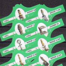 Vitolas de colección: GEZELLE, MICROSCOPIOS, VERDE S/G. 10 VITOLAS, SERIE COMPLETA.. Lote 151438758