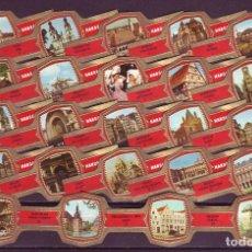 Vitolas de colección: HANDELSHOF, TURISMO, 24 VITOLAS, SERIE COMPLETA.. Lote 151439514