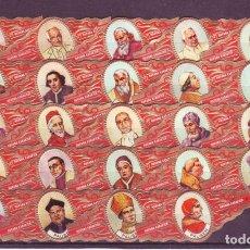 Vitolas de colección: HAVANA KARAKTER, PAPAS, 24 VITOLAS, SERIE COMPLETA.. Lote 151439570